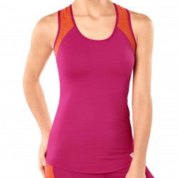 Sloggi Womens mOve FLY Sports Tank Top Pink/Coral 10190406