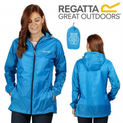 Regatta Womens Pack It Jacket III Blue Aster