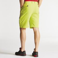 Dare2b Mens Tuned In Active Shorts Lightweight Lime Punch
