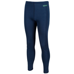 Regatta Mens Zimba Merino Wool Base Layer Leggings RMU034 Dark Denim