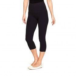 Spanx Star Power Tout and About Capri Shaping Leggings 2219 Backdrop Black