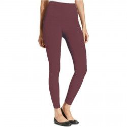 Spanx Star Power Tout and About Shaping Leggings 2162 Bordeaux