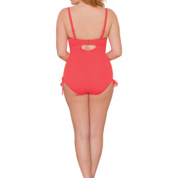 Curvy Kate Siren Swimsuit Straps & Strapless Coral 32-36 D-HH