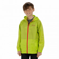 Regatta Kids Pack It Jacket III Lime Zest