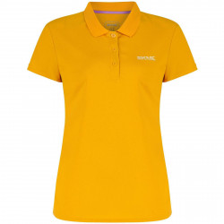 Regatta Womens Maverik III Polo T Shirt Gold Heat